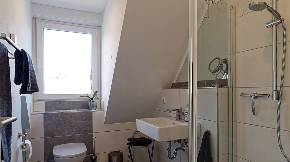 Badezimmer - Ferienwohnung Cibis
